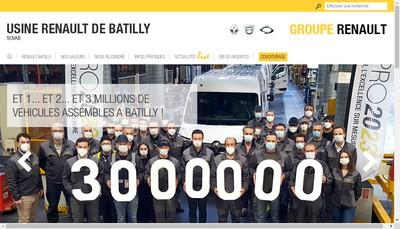 Site internet de Societe Vehicules Automobiles Batilly