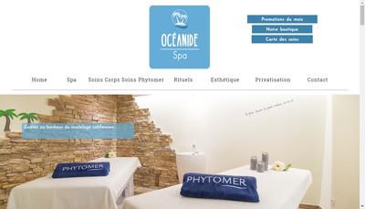 Site internet de Oceanide