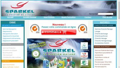 Site internet de Nova Spark