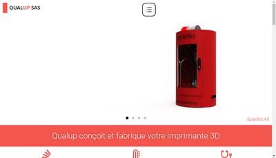 Site internet de Qualup