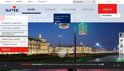 Site internet de Spie 183