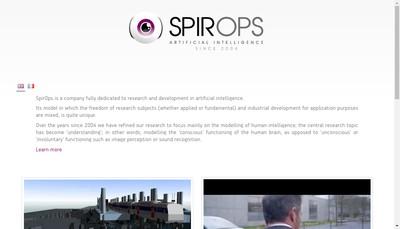 Site internet de Spir Ops