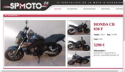 Site internet de Spmoto06