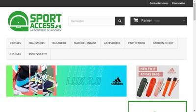 Site internet de Sport Access