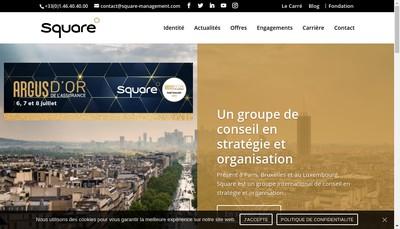 Site internet de J Square Conseil