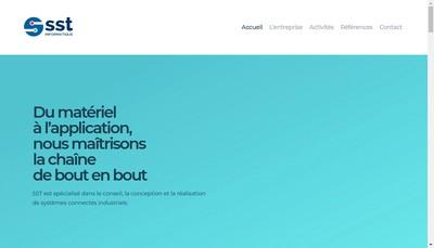 Site internet de Sst Informatique