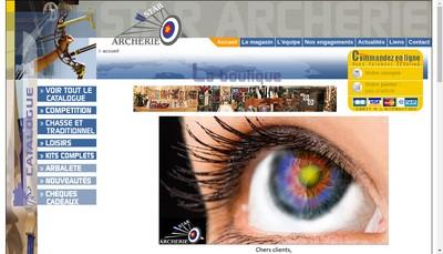 Site internet de Star Archerie