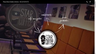 Site internet de Star Coffee