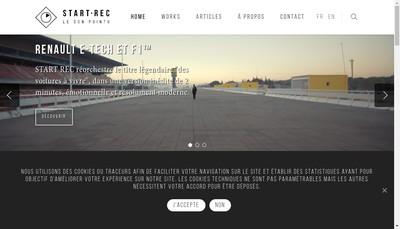 Site internet de Start Rec Start Rec Productions le Proce