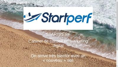 Site internet de Startperf