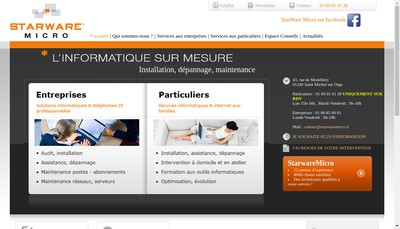 Site internet de Chronomicro