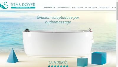 Site internet de Stas Doyer Hydrotherapie