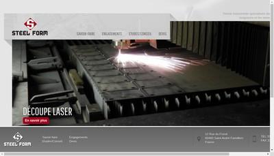 Site internet de Steelform