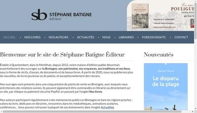 Site internet de Stephane Batigne