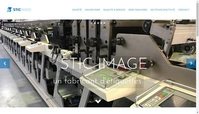 Site internet de Stic'Image