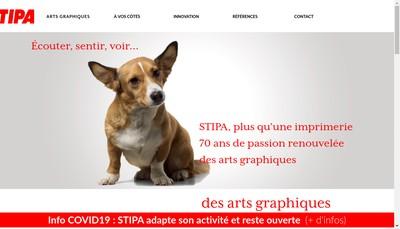 Site internet de Societe Travaux Impression Papeterie Applica