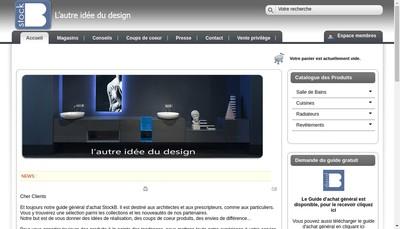 Site internet de Stock B