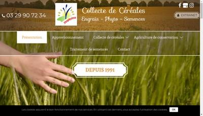 Site internet de Stophytra SA