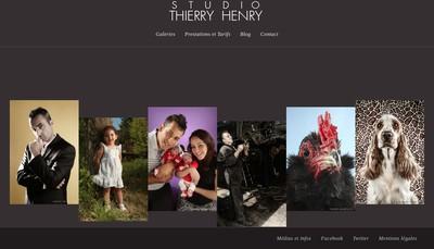 Site internet de Thierry Henry Production