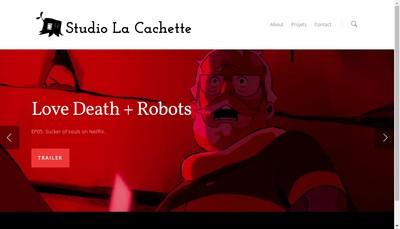 Site internet de Studio la Cachette