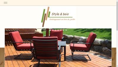 Site internet de Style et Bois