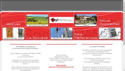Site internet de Stylimmo