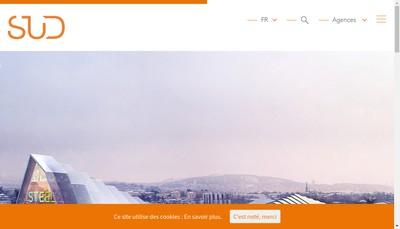 Site internet de Sud Groupe