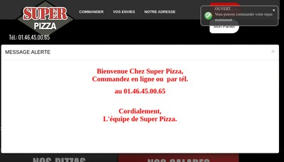 Site internet de Super Plus