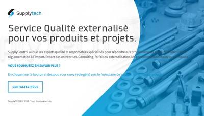 Site internet de Supplytech