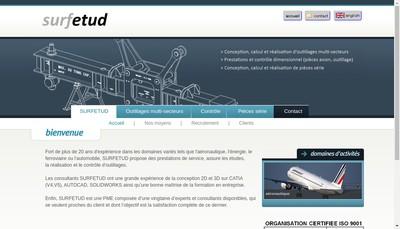 Site internet de Surfetud