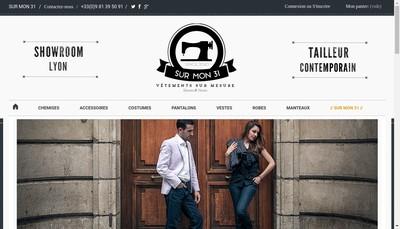 Site internet de Sur Mon 31