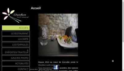 Site internet de Shun Bun Jushi Restaurant
