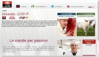 Site internet de Societe Vitreenne d'Abattage