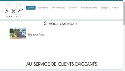 Site internet de Sxp Conseil