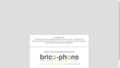 Site internet de Brico-Phone