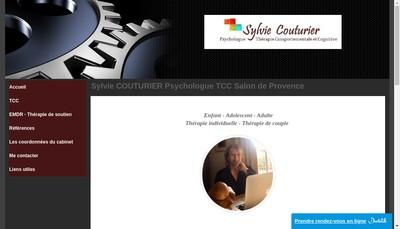 Site internet de Sylvie Couturier