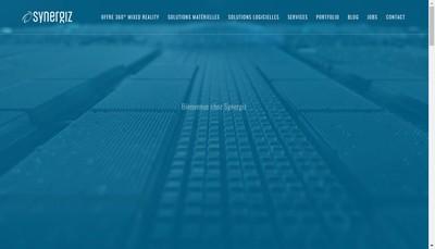 Site internet de Synergiz