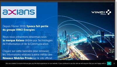 Site internet de Binome Finance