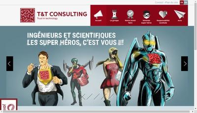 Site internet de T & T Consulting