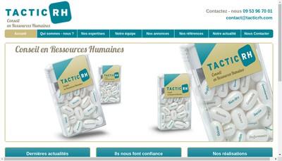 Site internet de TACTIC RH