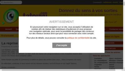 Site internet de Tatouvu