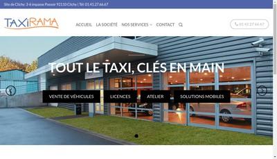 Site internet de Taxirama