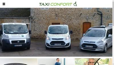 Site internet de Taxi Confort