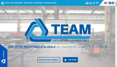 Site internet de Team