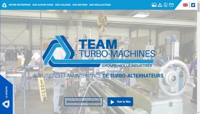 Site internet de Team Turbo Machines