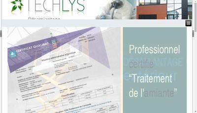 Site internet de Techlys