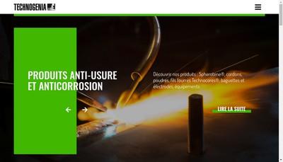 Site internet de Technosphere Technodur Lasercarb