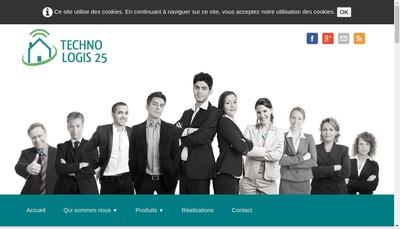 Site internet de Techno Logis 25