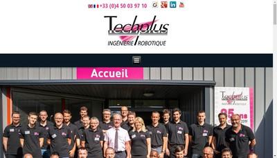Site internet de Techplus