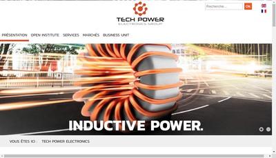 Site internet de Tech Power Electronics